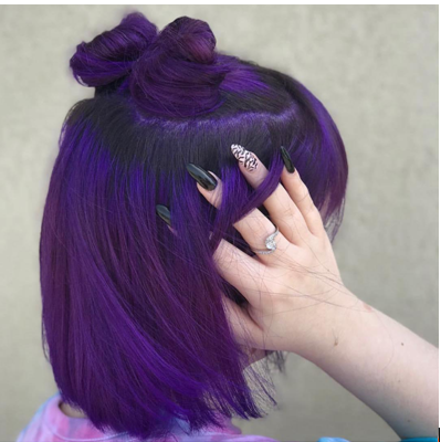 Amazing Dark Purple Hair Colour Ideas Every Lady Wants to Copy